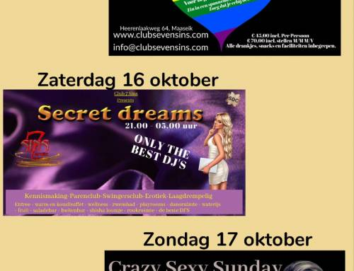 Weekend van 15-16-17 oktober
